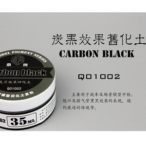 GUNDAM WEATHERING TOOLS CARBON BLACK 35ML