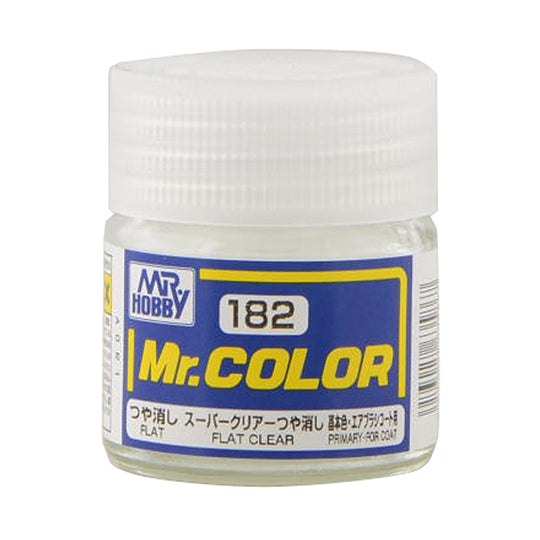 MR.COLOR 182 FLAT CLEAR (FLAT) 10ML