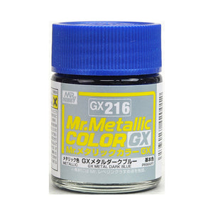 MR.COLOR GX216 GX METAL DARK BLUE (METALLIC) 18ML