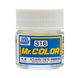 MR.COLOR 316 WHITE FS17875 (SEMI GLOSS)10ML