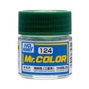 MR.COLOR 124 DARK GREEN MITSUBISHI (SEMI GLOSS) 10ML