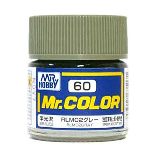 MR.COLOR 060 RLM02 GRAY (SEMI GLOSS) 10ML