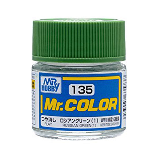 MR.COLOR 135 RUSSIAN GREEN (1) (FLAT) 10ML