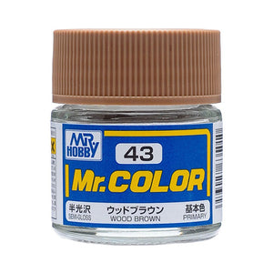 MR.COLOR 043 WOOD BROWN (SEMI GLOSS) 10ML