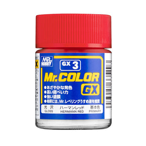 MR.COLOR GX3 HERMANN RED (GLOSS) 18ML