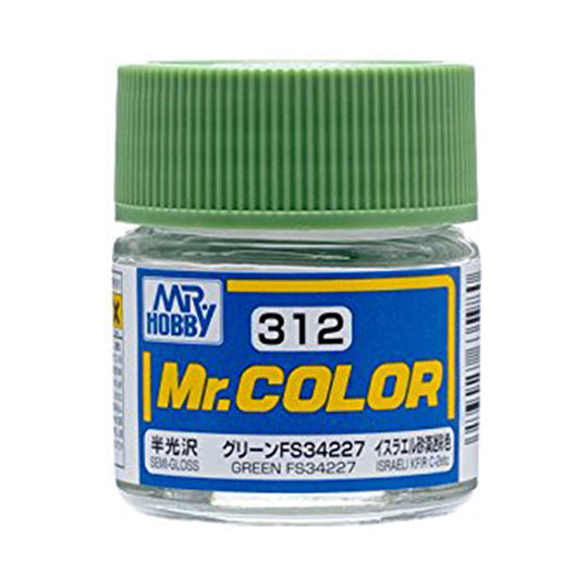 MR.COLOR 312 GREEN FS34227 (SEMI GLOSS)10ML