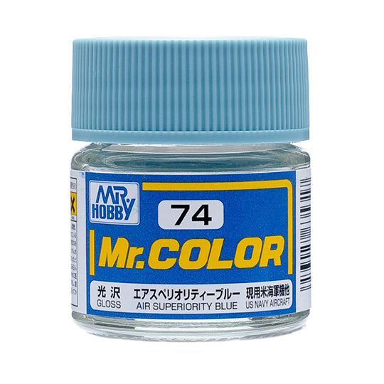 MR.COLOR 074 AIR SUPERIORITY BLUE (GLOSS) 10ML