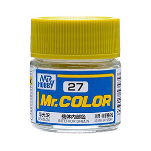 MR.COLOR 027 INTERIOR GREEN (SEMI GLOSS) 10ML
