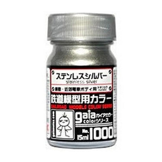 GAIA PAINT 1000 STAINLESS SILVER