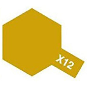 ACRYLIC MINI PAINT X-12 GOLD LEAF 10ML