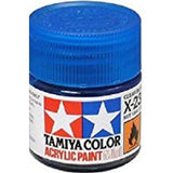 ACRYLIC MINI PAINT X-23 CLEAR BLUE 10ML