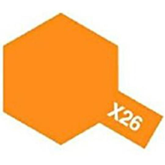 ACRYLIC MINI PAINT X-26 CLEAR ORANGE 10ML