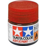 ACRYLIC MINI PAINT X-27 CLEAR RED 10ML