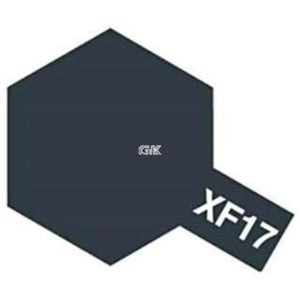 ENAMEL PAINT XF-17 SEA BLUE 10ML
