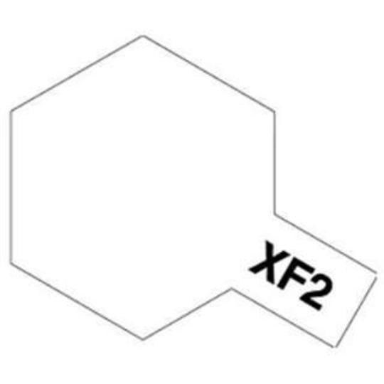 ENAMEL PAINT XF-2 FLAT WHITE 10ML