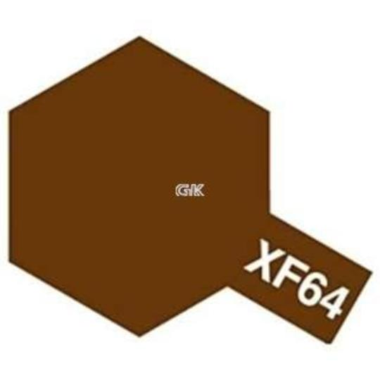 ENAMEL PAINT XF-64 RED BROWN 10ML