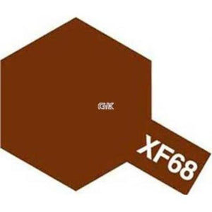 ENAMEL PAINT XF-68 NATO BROWN 10ML