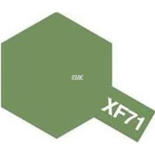 ENAMEL PAINT XF-71 COCKPIT GREEN (IJN) 10ML