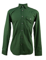 Men's Hunters Green Long Sleeve Shirt