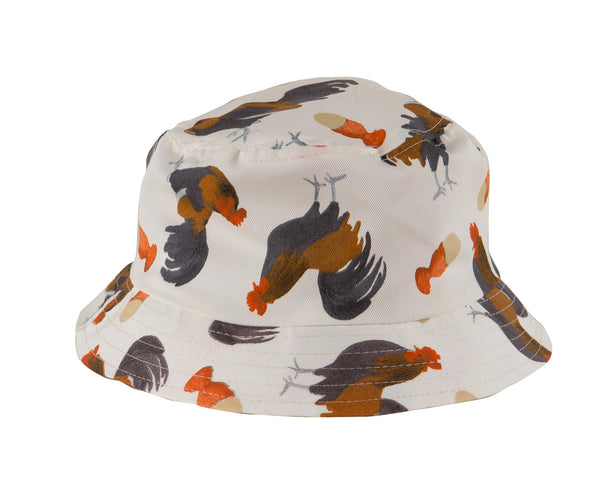 Chicken Print Bucket Hat