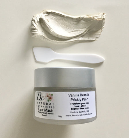 Vanilla Bean & Prickly Pear Face Mask