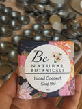 Island coconut soap bar