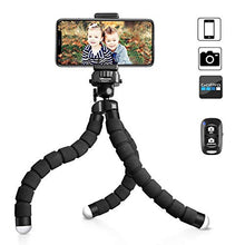 Load image into Gallery viewer, UBeesize Tripod S, Premium Flexible Tripod with Wireless Remote Shutter, Compatible with iPhone/Android