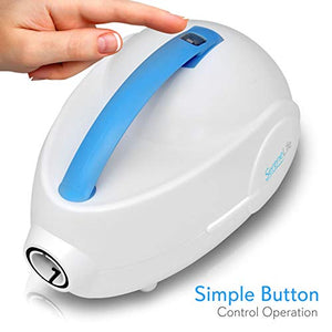 SereneLife Portable Spa Bubble Bath Massager with Remote Control