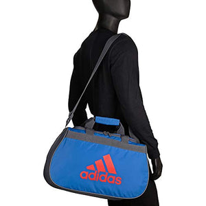 Adidas Limited Edition Diablo Small Duffel Gym Bag in Bold Colors - (Light Flash Purple/Solar Pink/Black): Clothing