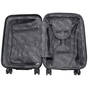 Kenneth Cole Reaction Reverb Hardsided 8-Wheel 3-Piece Spinner Luggage Set: