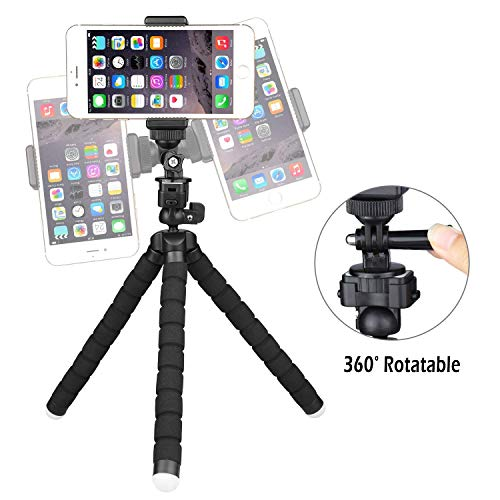 huge discount 2c352 33fa1 UBeesize Tripod S, Premium Flexible Tripod with Wireless Remote Shutter,  Compatible with iPhone/Android