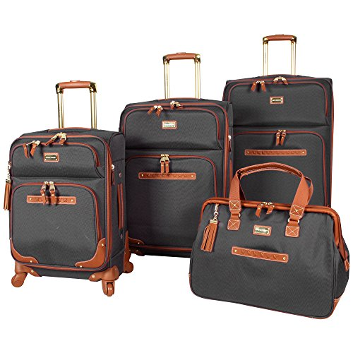 Steve Madden 4 piece Luggage Set With Spinner Wheels