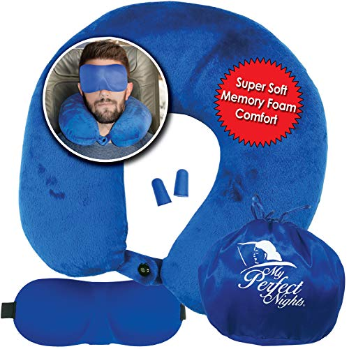 My Perfect Nights Premium Travel Neck Pillow Set/Combo