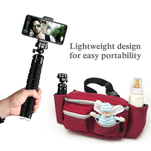 UBeesize Tripod S, Premium Flexible Tripod with Wireless Remote Shutter, Compatible with iPhone/Android
