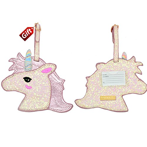 Unicorn Passport case and Luggage tag Gift US Pink Passport Cover