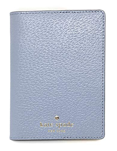 Kate Spade New York Grand Street Leather Passport Holder (Cloud Cover): Clothing