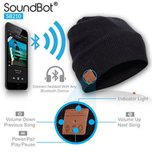 Load image into Gallery viewer, SoundBot SB210 HD Stereo Bluetooth 4.1 Wireless Smart Beanie with Headset and Speakerphone
