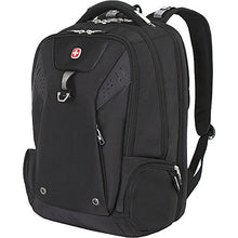 "Load image into Gallery viewer, SwissGear Travel Gear TSA Approved 15"" Laptop Backpack 5902 - (Black Cod) 