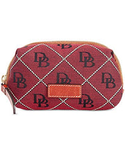 Load image into Gallery viewer, Dooney Bourke Signature Cosmetic Case Pouch: Clothing