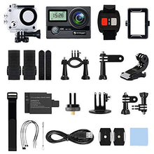 Load image into Gallery viewer, FITFORT Waterproof Sport/Action Camera  Ultra HD with 170 Degree 2 Inch LCD Screen Remote Control