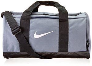 NIKE Team Women's Training Duffel Bag, Cool Grey/Black/Storm Pink, One Size: Clothing