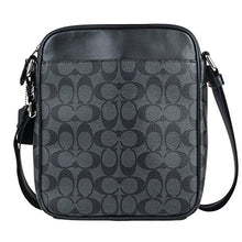 Load image into Gallery viewer, Coach Men's Flight Bag in Signature PVC 54788 in Charcoal/Black: Gateway