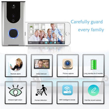 Load image into Gallery viewer, Wireless Doorbell with built in Camera, Intercom, and Night Vision