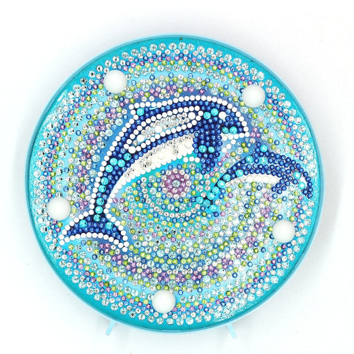 Light-Up Diamond Painting: Dolphin
