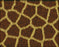 This is a photo of Giraffe fur in a diamond canvass