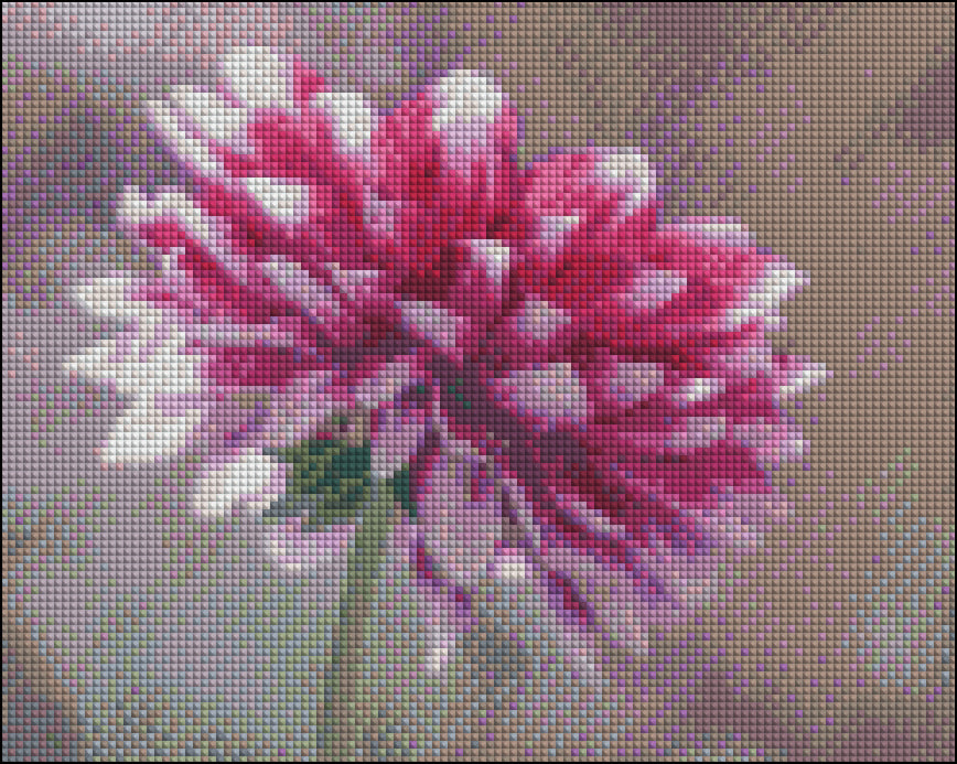 Layered Pink Flower 2