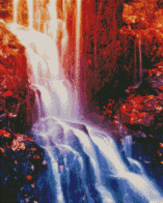 Rainbow Rock Waterfall