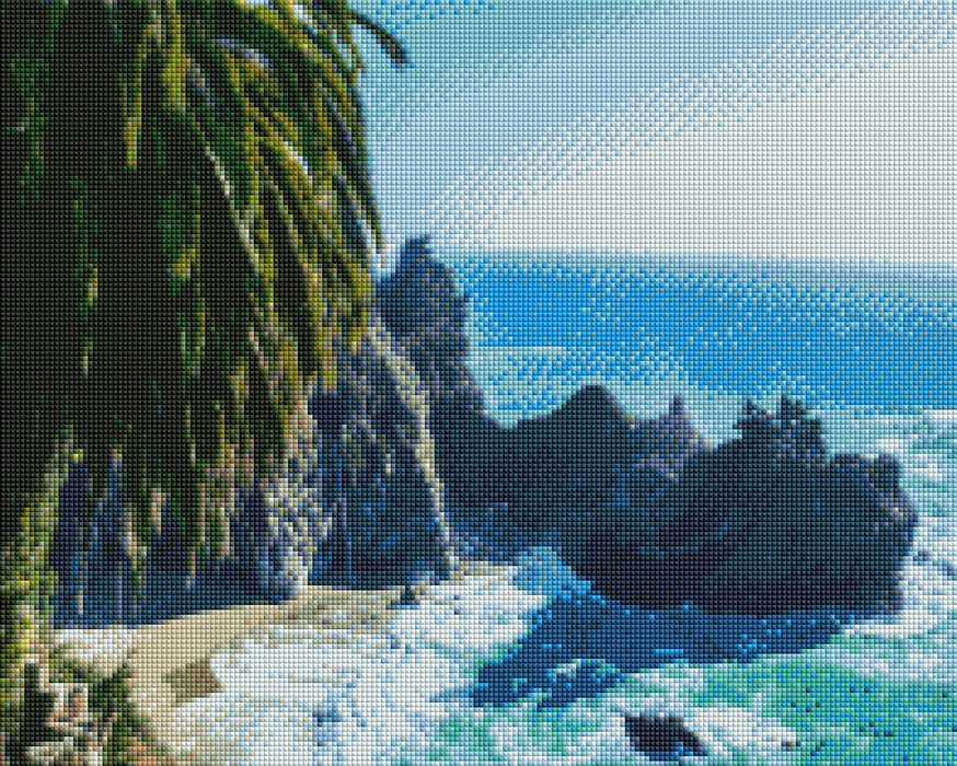 Beach Cliffs - Shimmer Stitch