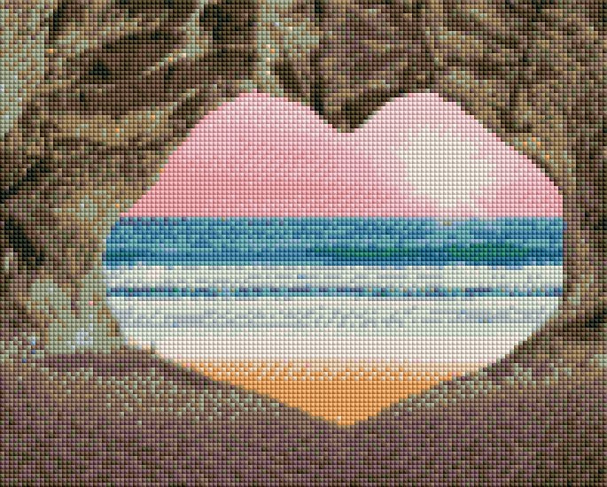 Lovers Beach - Shimmer Stitch