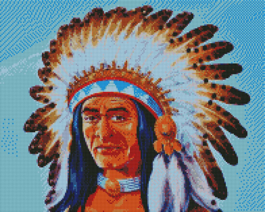 Indian Chief - Shimmer Stitch